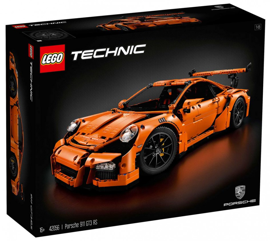 lego technic porsche 911 gt3 rs 42056 erscheint am 1. Black Bedroom Furniture Sets. Home Design Ideas