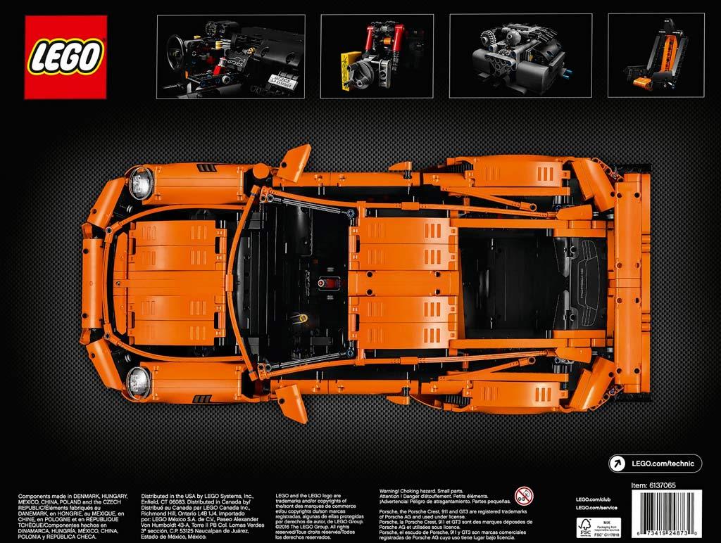 lego technic porsche 911 gt3 rs 42056 erscheint am 1. Black Bedroom Furniture Sets. Home Design Ideas