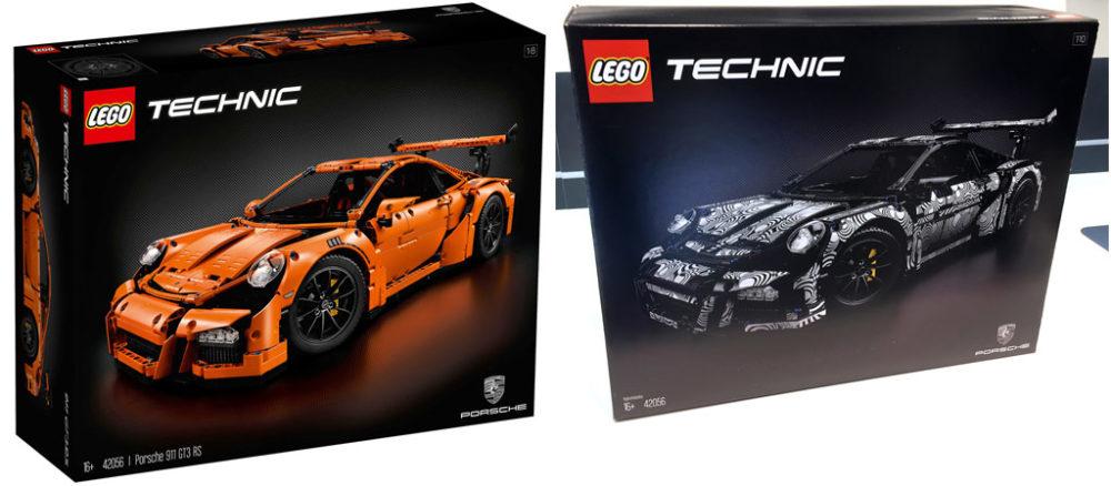 Lego Technic Porsche 911 Gt3 Rs 42056 Orange Or