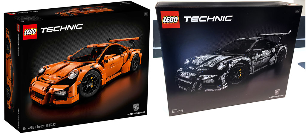 lego technic porsche 911 gt3 rs 42056 orange or camouflage the result. Black Bedroom Furniture Sets. Home Design Ideas