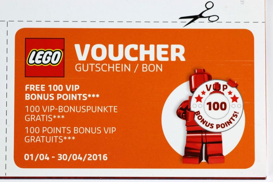 Lego Store: VIP-Bonuspunkte | © Andres Lehmann / zusammengebaut.com