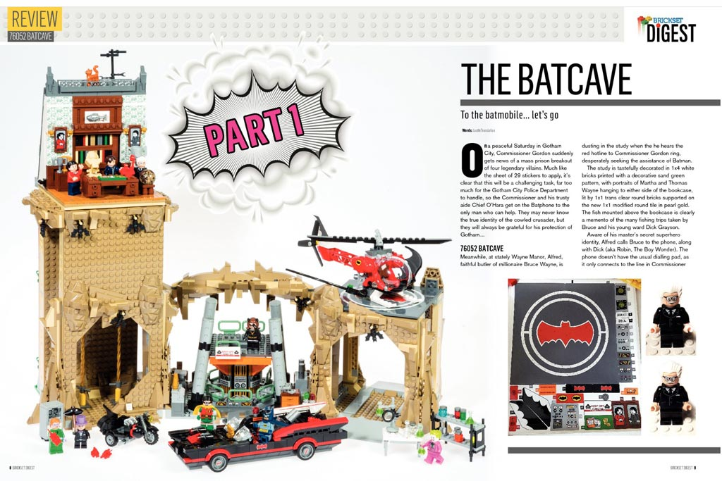 The Batcave: Review | © Brickset