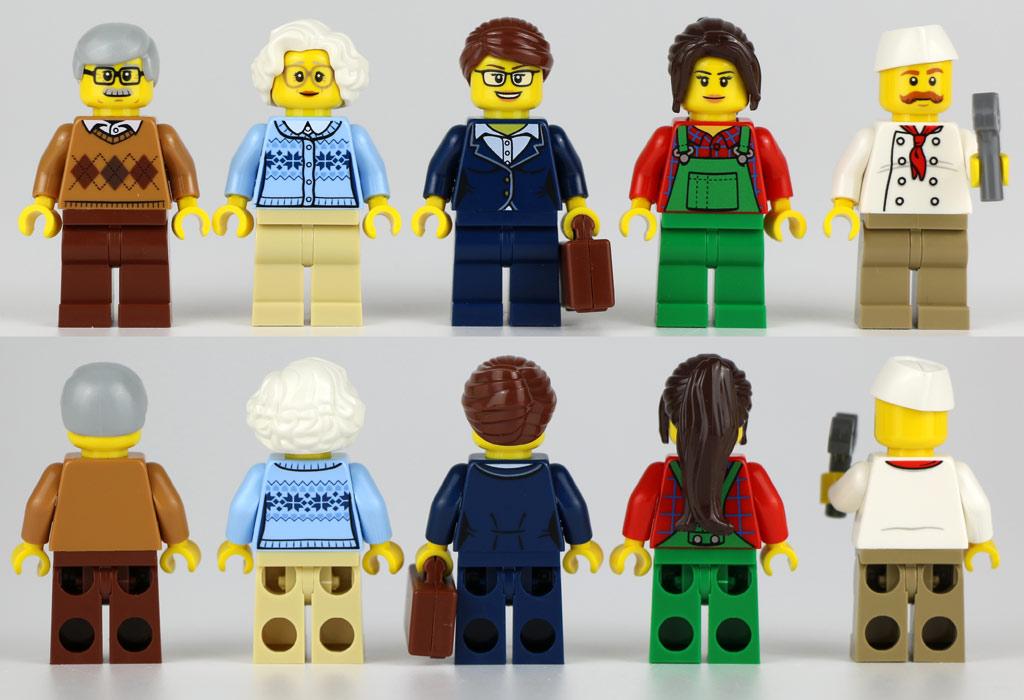 Farbenfrohe Minifiguren | © Andres Lehmann / zusammengebaut.com