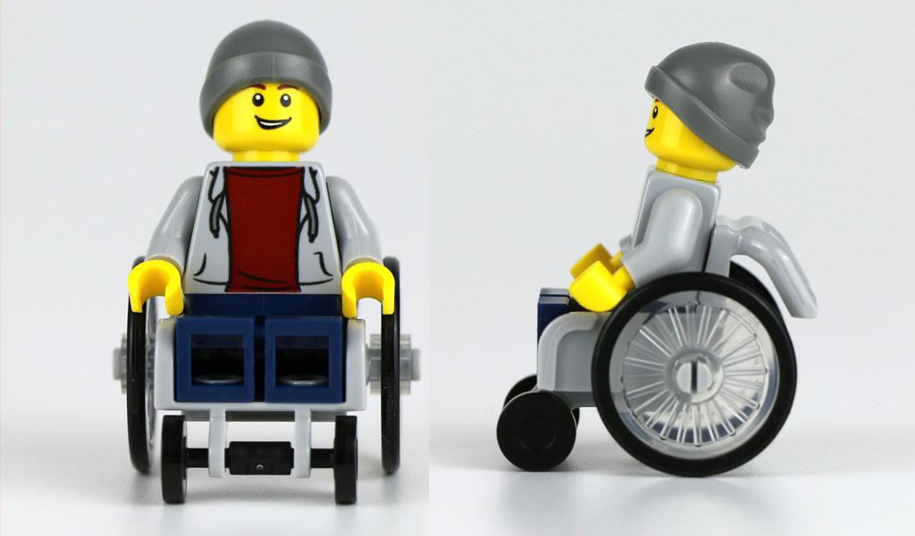 Neuer Lego-Rollstuhl | © Andres Lehmann / zusammengebaut.com
