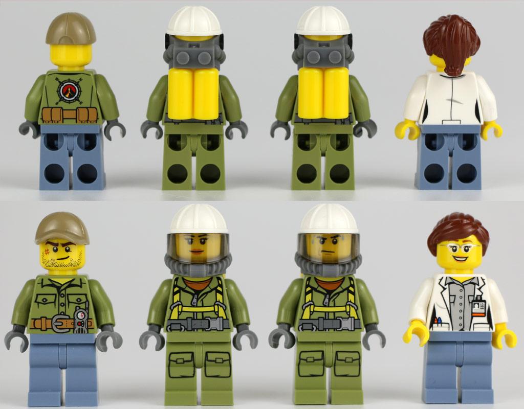 Vier Minifiguren forschen | © Andres Lehmann / zusammengebaut.com