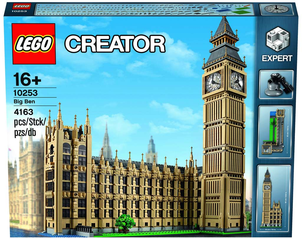 lego creator expert big ben 10253 das ist das neue xxl london set. Black Bedroom Furniture Sets. Home Design Ideas