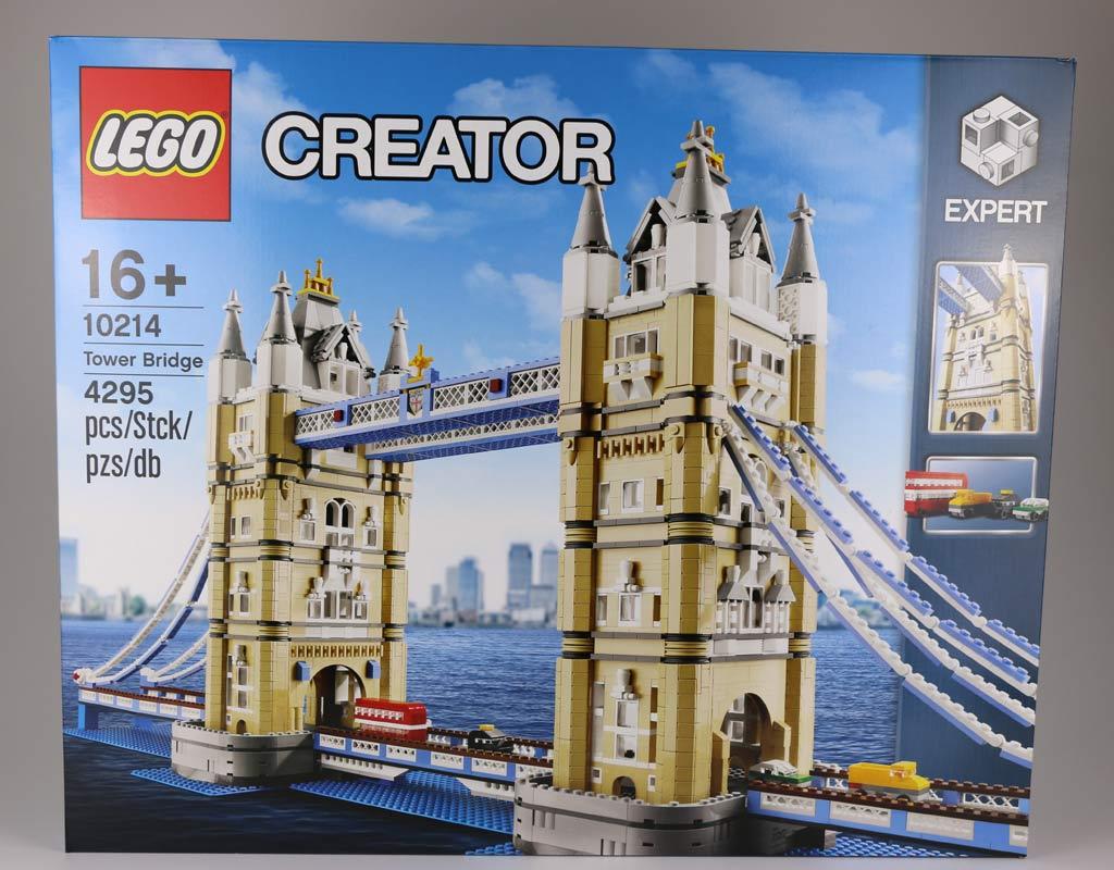 Lego Creator Expert Tower Bridge (10214): Box | © Andres Lehmann / zusammengebaut.com