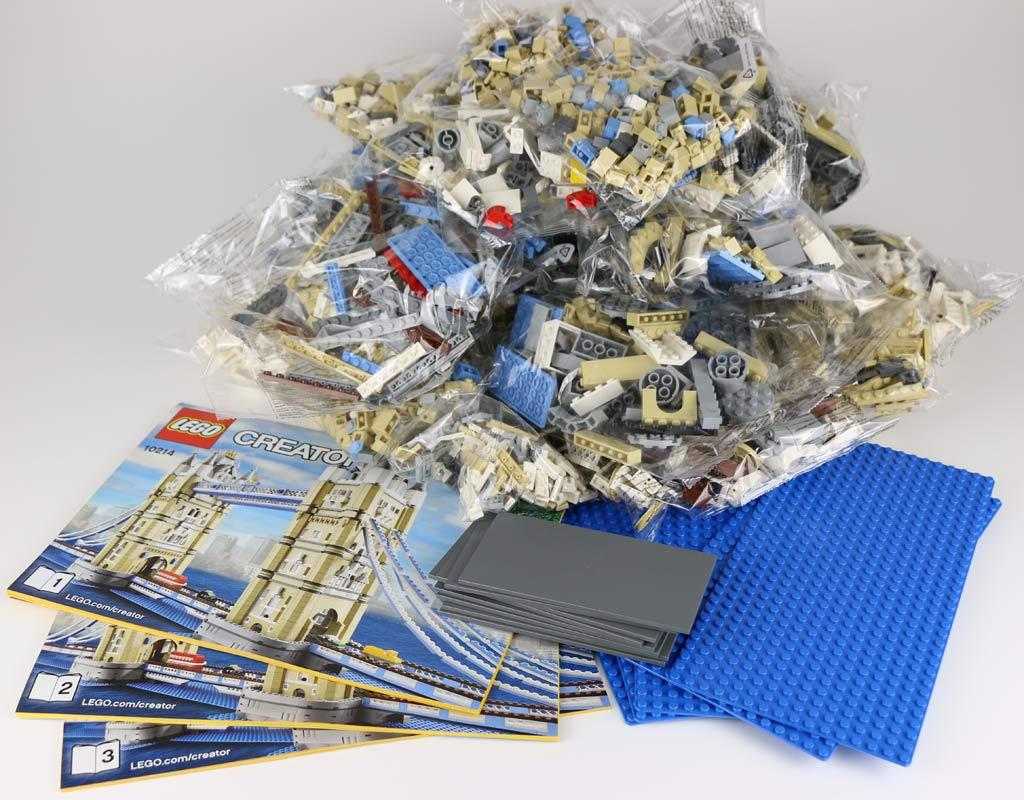 Lego Creator Expert Tower Bridge (10214) Ausgepackt | © Andres Lehmann / zusammengebaut.com