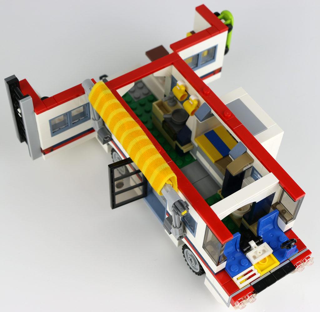 Lego Creator Quot Urlaubsreisen Quot 31052 Camper Im Review