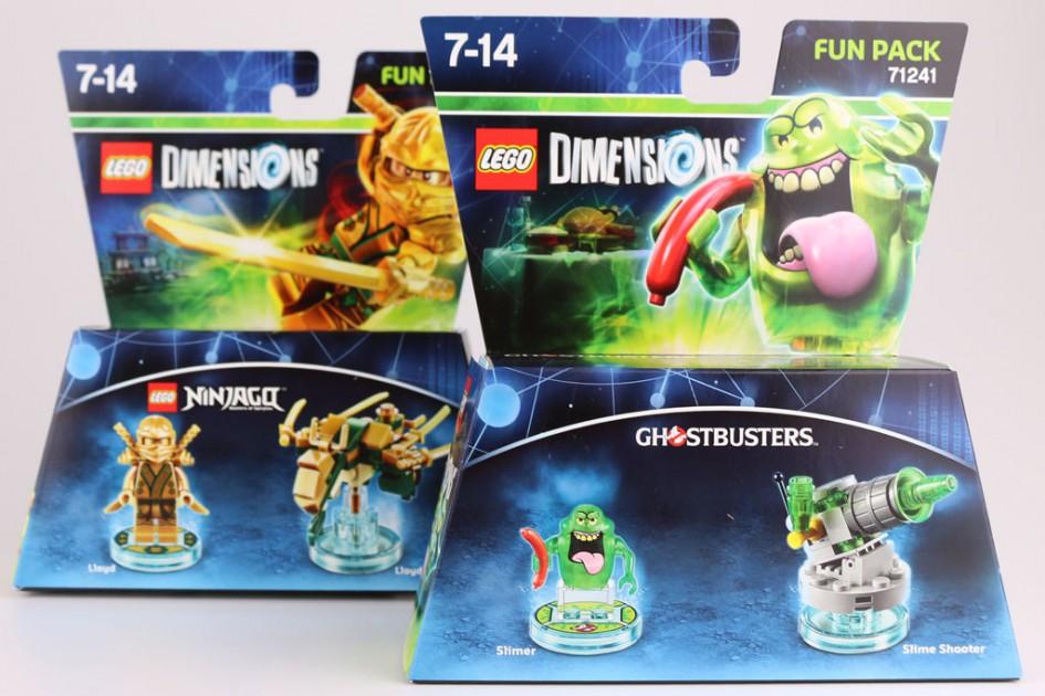 Lego Dimensions: Slimer und Lloyd greifen ins Spielgeschehen ein!   © Andres Lehmann  / zusammengebaut.com