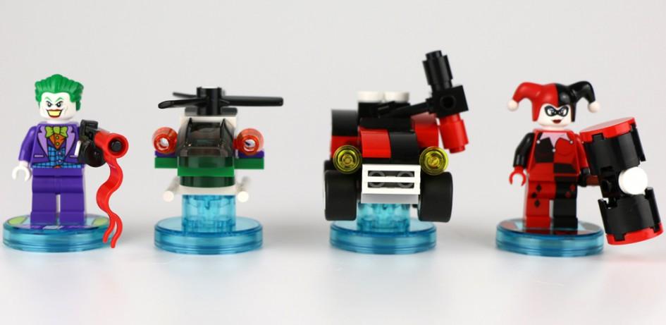 Lego Dimensions Joker and Harley Quinn DC Comids Team Pack (71229) | © Andres Lehmann / zusammengebaut.com