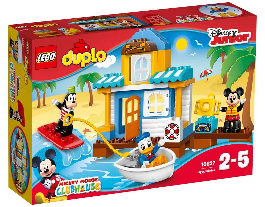 Lego Duplo Mickys Strandhaus (10827)   © LEGO Group