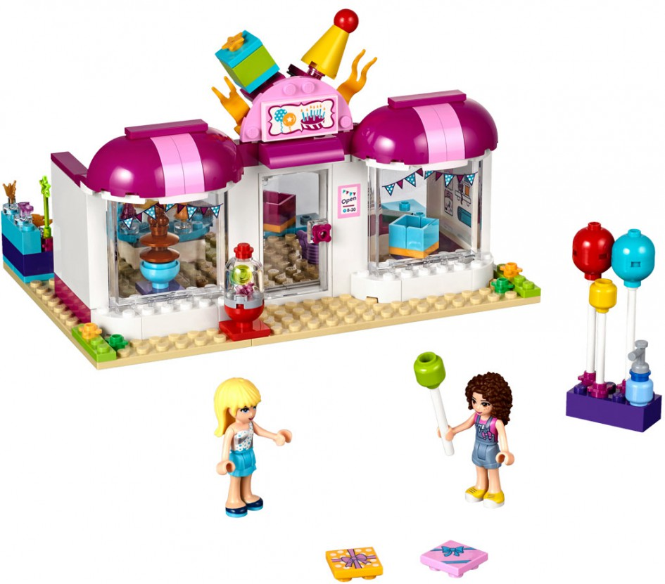 Lego Friends Heartlake Party Shop (41132) | © LEGO Group