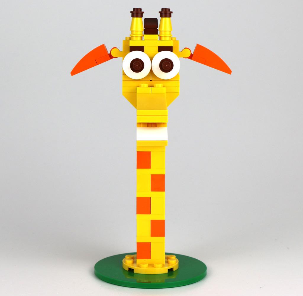 Geoffrey im Polybag hat ausgedient... | © Andres Lehmann / zusammengebaut.com