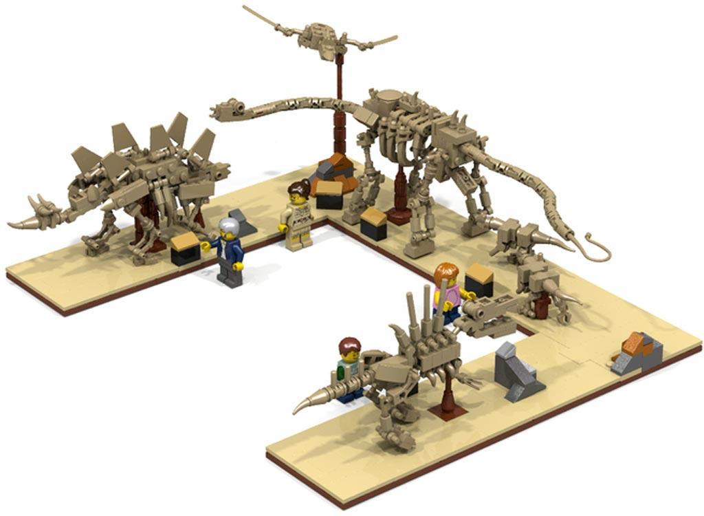 Fossil Museum | @ Whatpumpkin / Lego Ideas