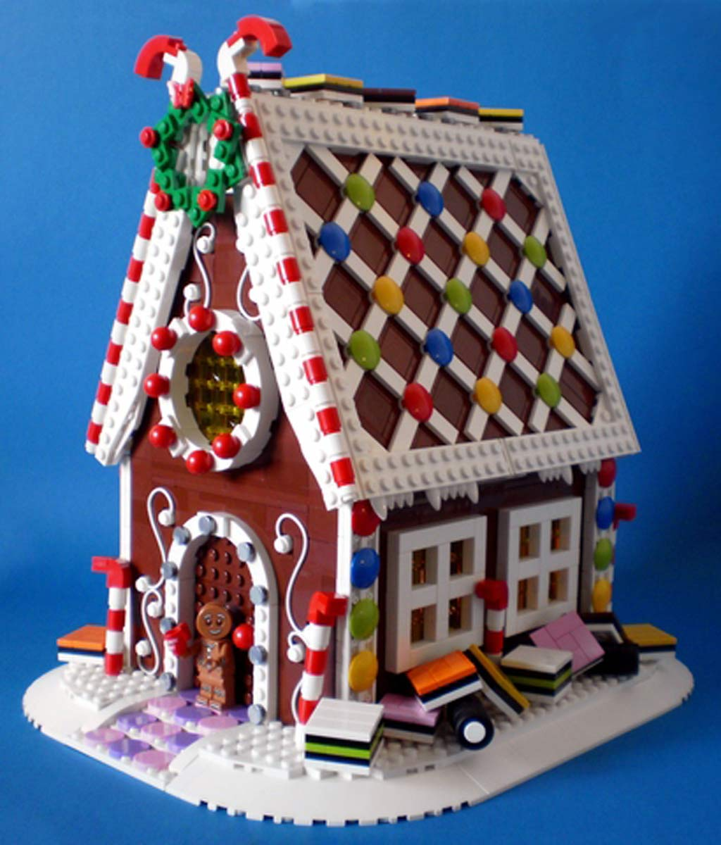 Gingerbread House | @ SwanDutchman / Lego Ideas