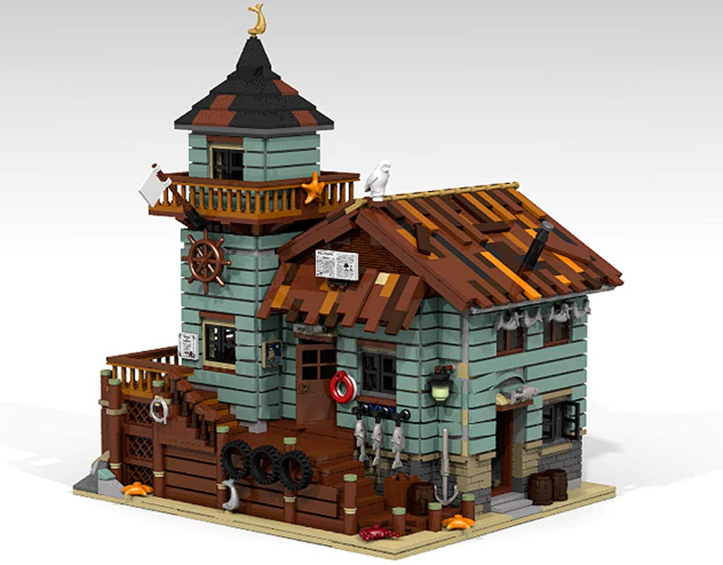Lego ideas altes fischerhaus wird offizielles set for Lego ideas old fishing store