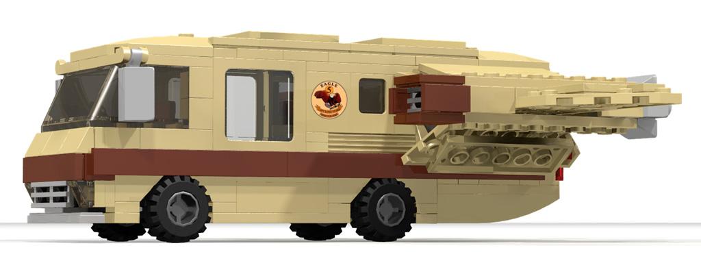 Spaceballs – Eagle 5: Das Projekt wird geprüft | © NvdK / Lego Ideas