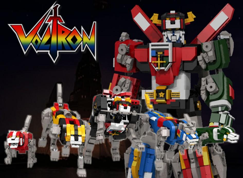 Voltron - Defender Of The Universe | @ len_d69 / Lego Ideas