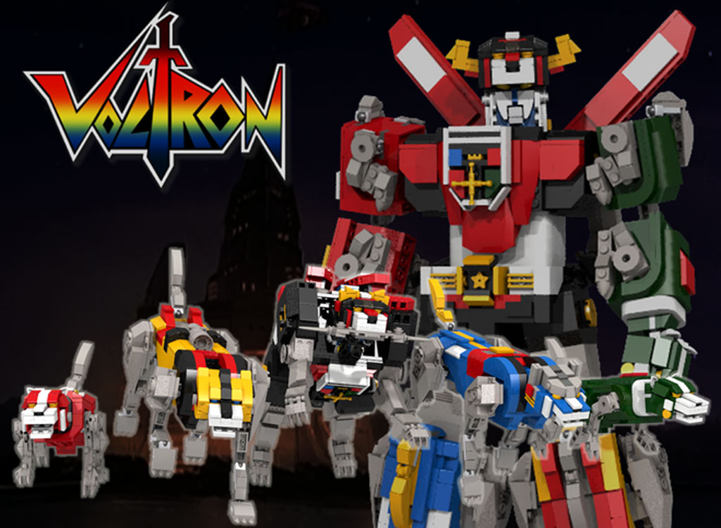 Voltron - Defender Of The Universe | @ len_d69 / Lego Ideas