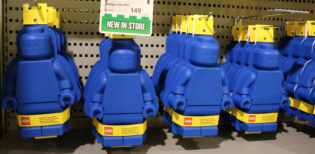 Neue Lego Minifiguren Kuchen Backform: Erste Sahne! | zusammengebaut