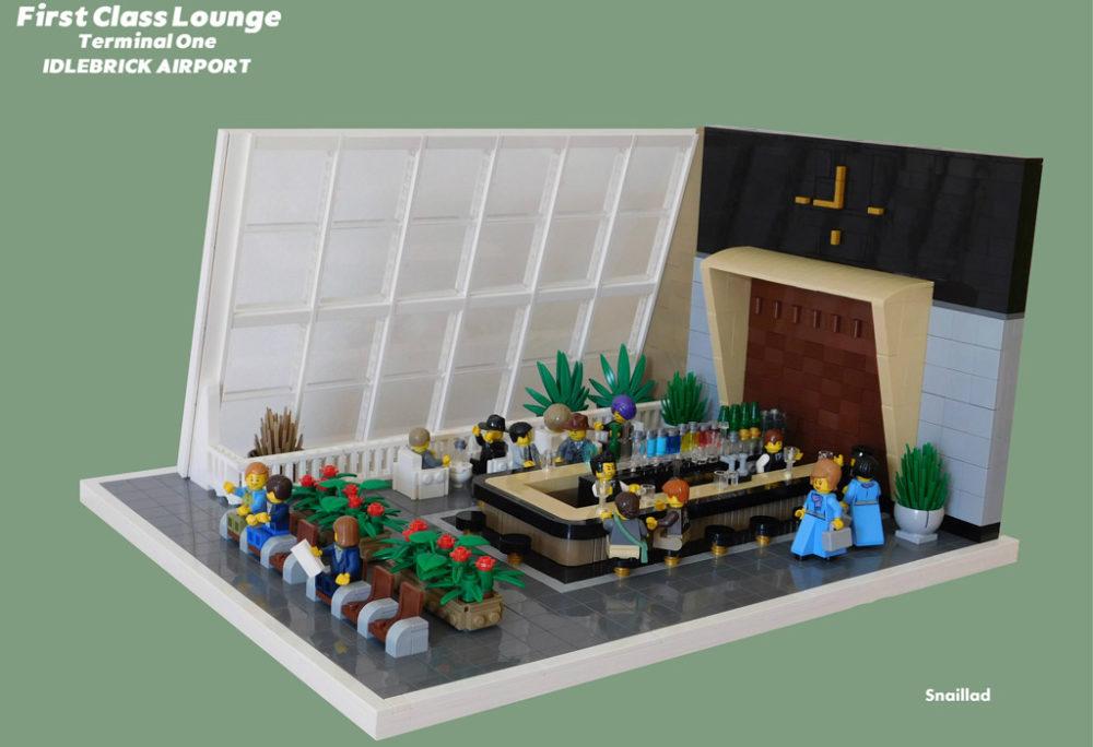 Lego Moc Idlebrick Airport Von Andrew Tate Zusammengebaut