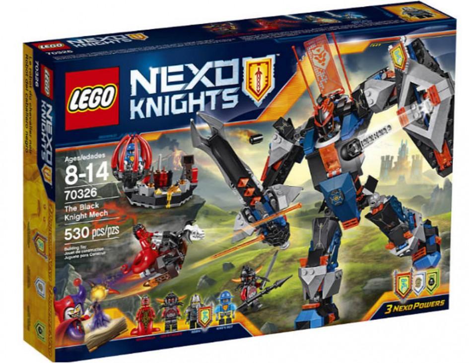 LEGO Nexo Knights The Black Knight Mech (70326) | © LEGO Group