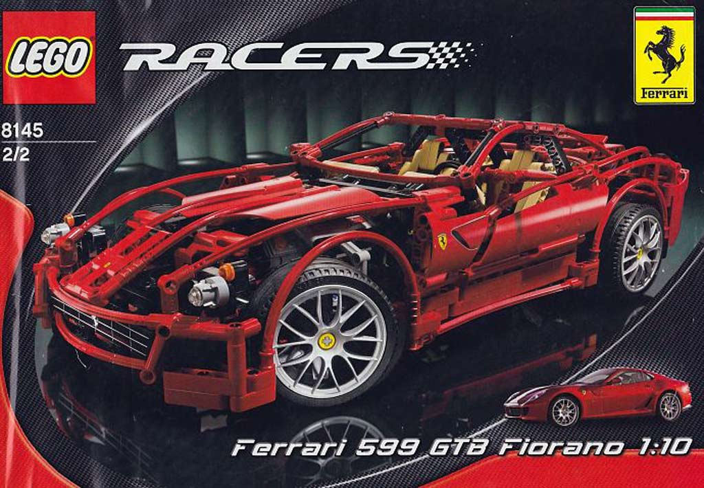 Lego Ferrari 599 GTB Fiorano 1:10 (8145) | © LEGO Group