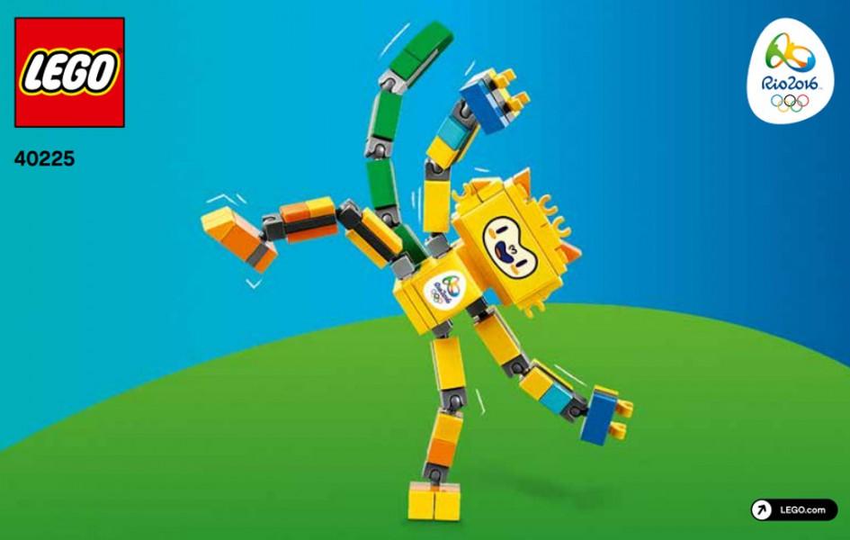Rio 2016 Maskottechen   © LEGO Group