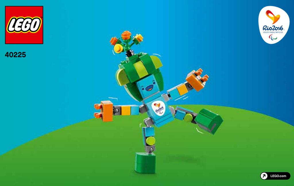 Rio 2016 Maskottechen Nummer 2   © LEGO Group