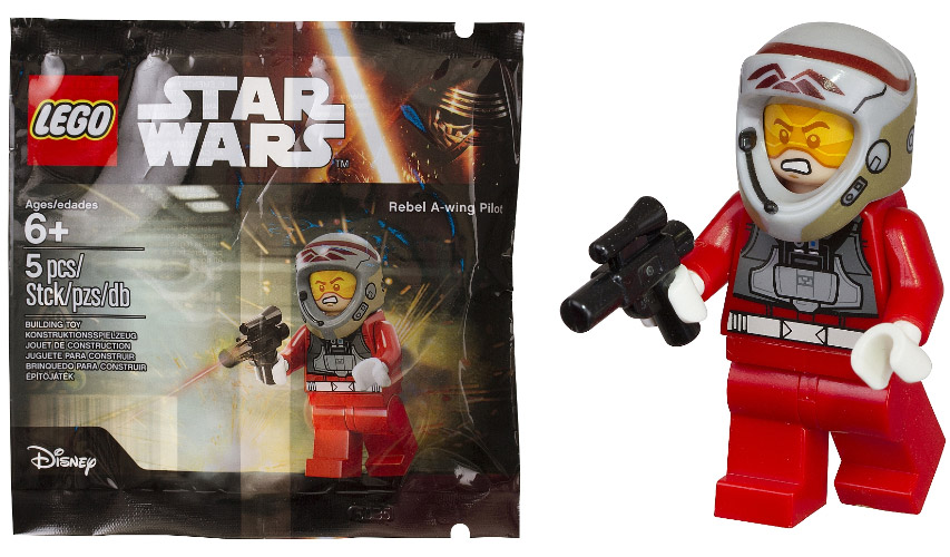 Lego Star Wars Rebel A-Wing Pilot | © LEGO Group
