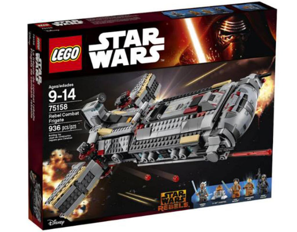 Lego Star Wars Rebel Combat Frigate (75168): Box | © LEGO Group