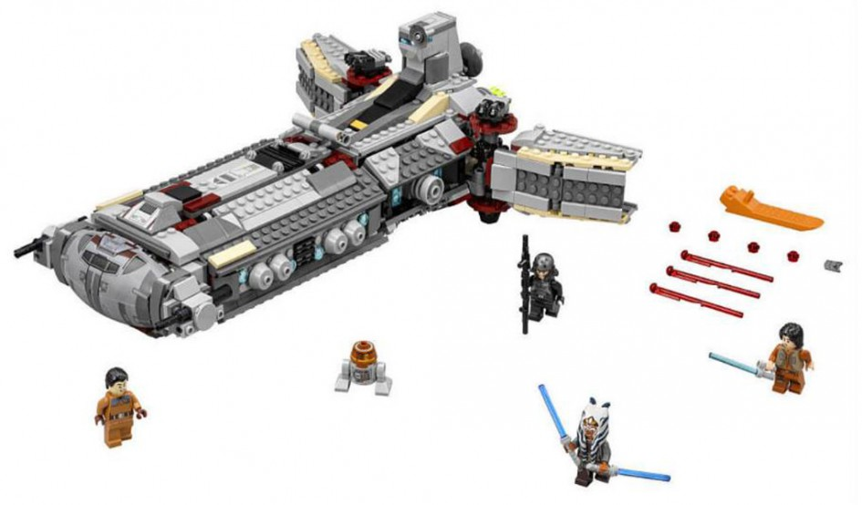 Lego Star Wars Rebel Combat Frigate (75168) | © LEGO Group
