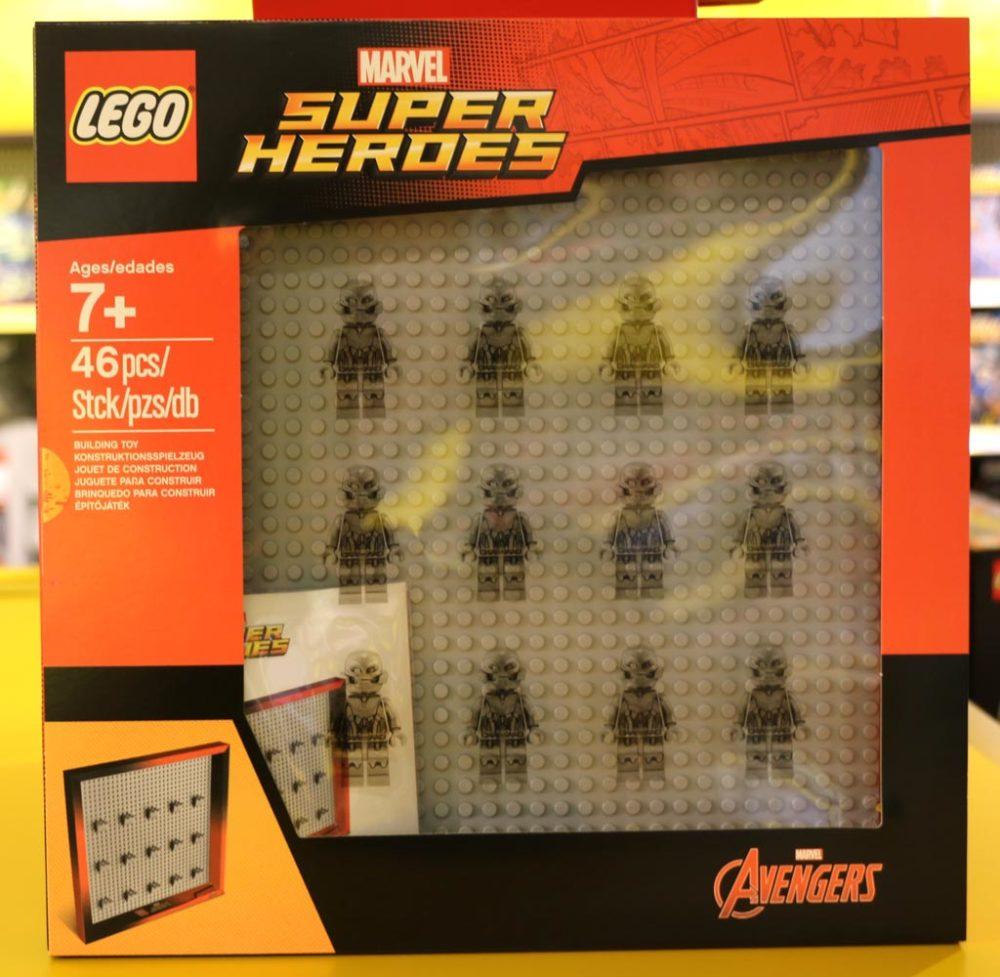 Lego Marvel Super Heroes Minifiguren Rahmen Iron Man An Die Wand Zusammengebaut