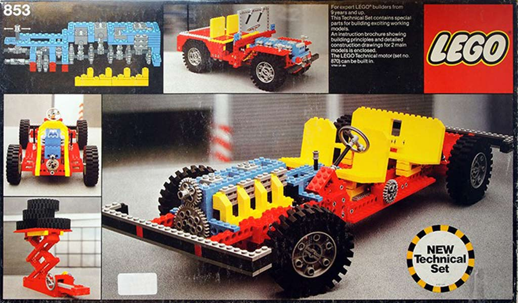 LEGO Technic Auto Chassis (853 | © LEGO Group