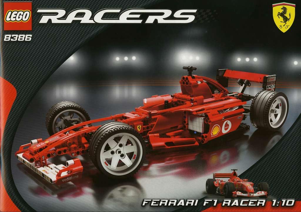Lego Technic Ferrari F1 Racer (8386) | © LEGO Group