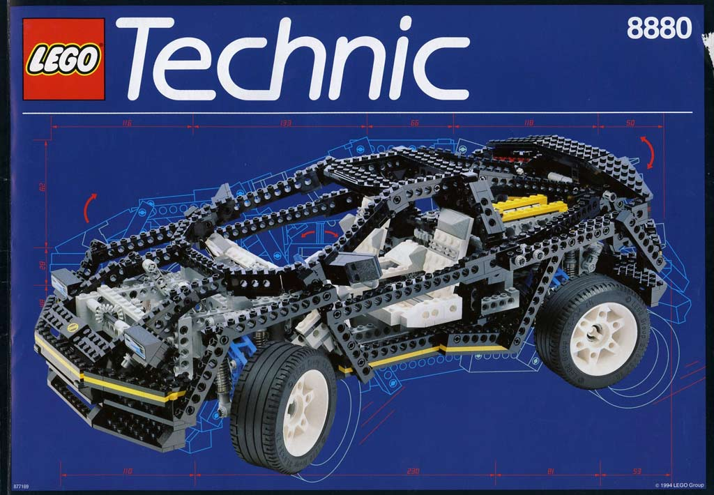 Lego Technic Super Car (8880) | © LEGO Group