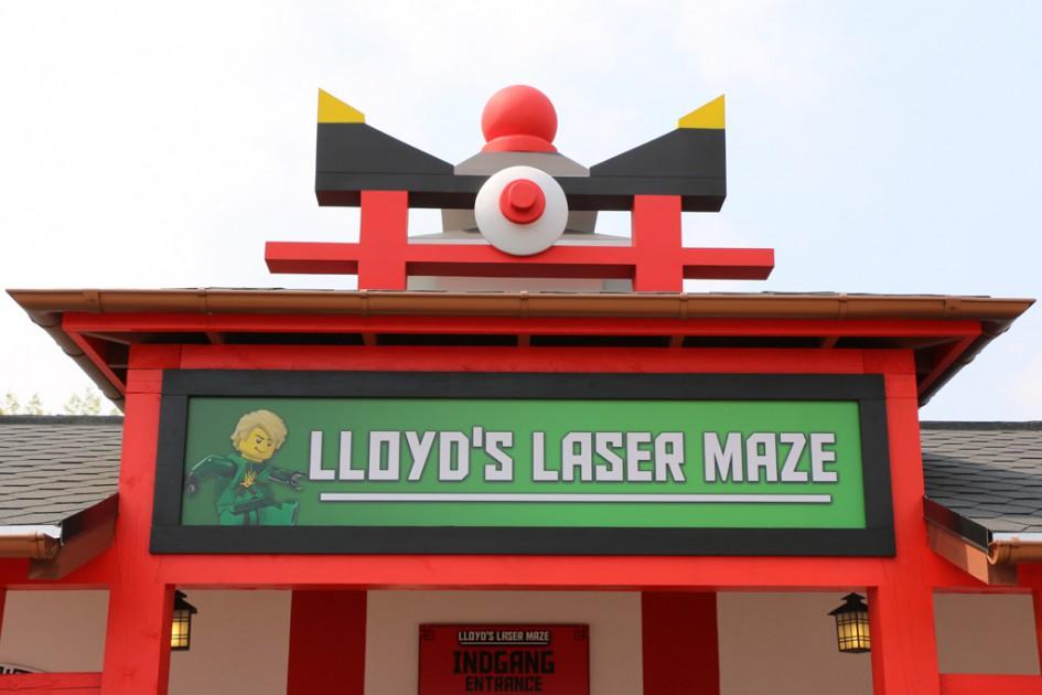 Lloyd's Laser Maze im Legoland Billund | © Andres Lehmann / zusammengebaut.com