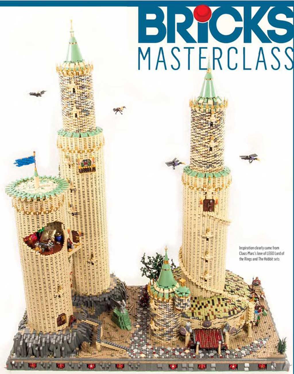 Hoch hinaus! Diesen Turm stelt Marc aus! | © Bricks / Claus-Marc-Hahn