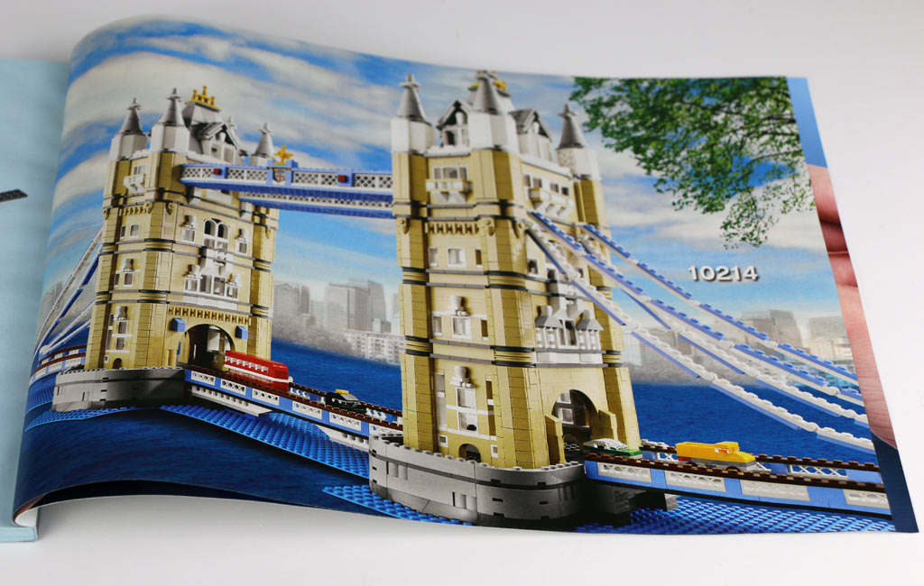 Bauanleitung Big Ben: Hinweis auf die Tower Bridge   © Andres Lehmann / zusammengebaut.com
