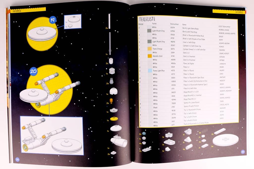 So eine Enterprise aus Legosteinen muss schon mal sein! | © zusammengebaut.com