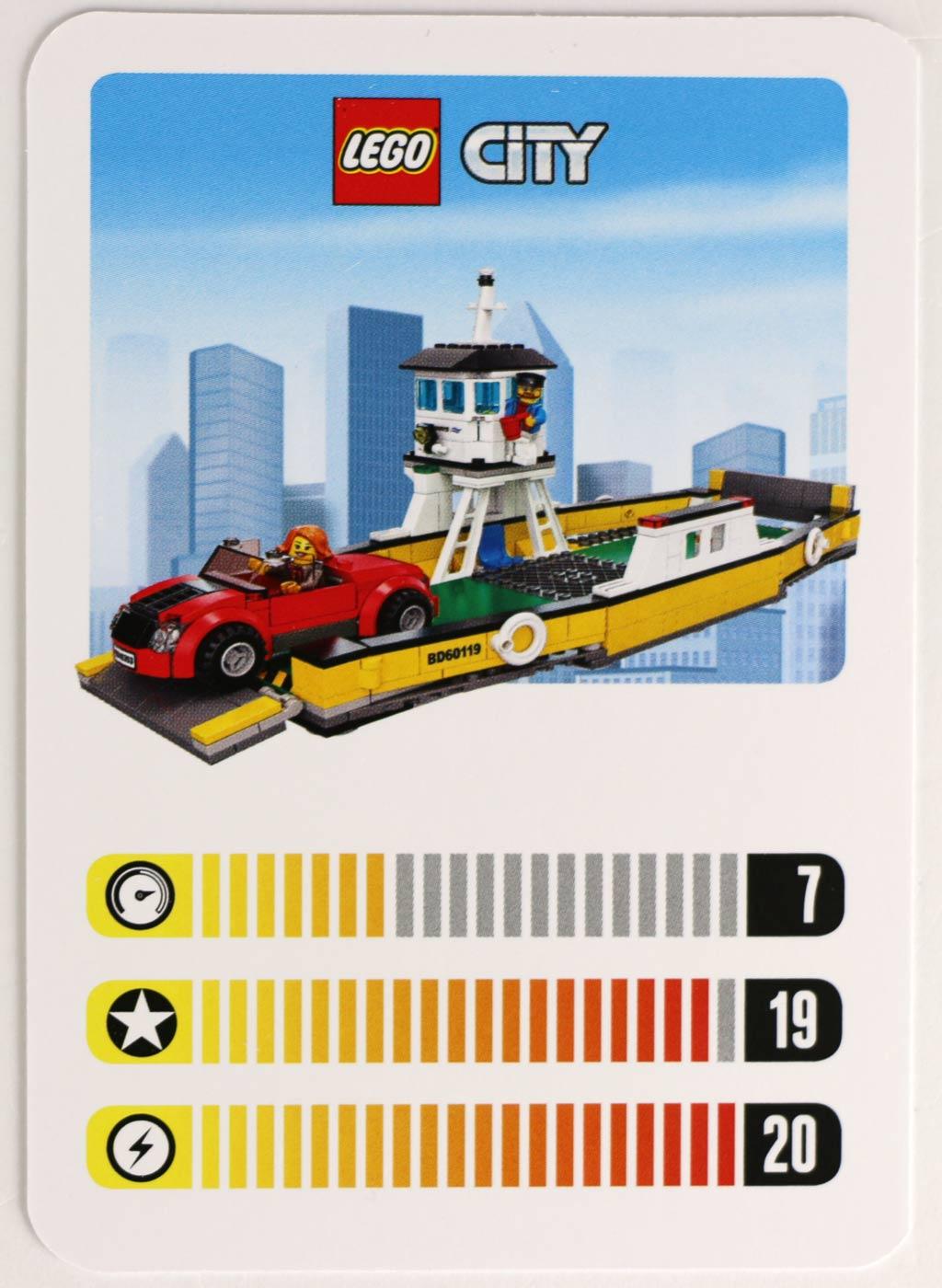Nicht schnell, aber mit viel Power: LEGO City Fähre (60119) | © zusammengebaut.com