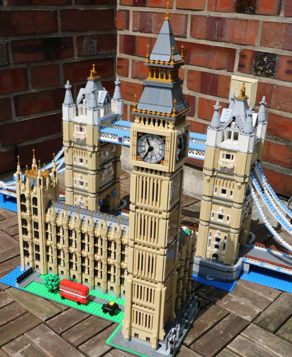 Der Lego Creator Big Ben (10253) folgt auf die Tower Bridge (10214), die noch immer erhältlich ist.   © Andres Lehmann / zusammengebaut.com