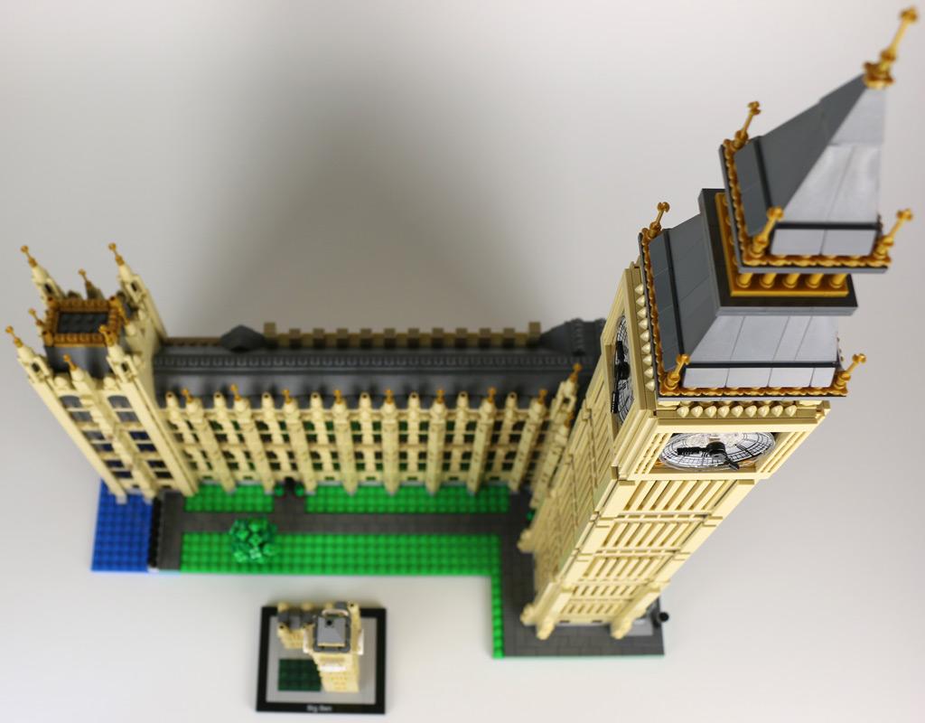 Lego Creator Expert (10253) und Architecture (21013) Big Ben | © Andres Lehmann / zusammengebaut.com