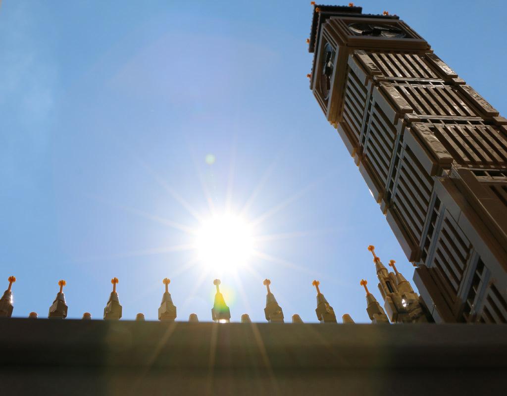 The sun is shining!   © Andres Lehmann / zusammengebaut.com