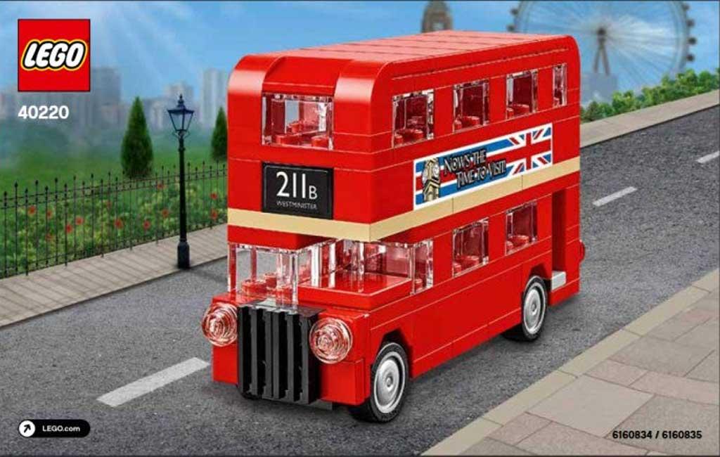 Lego Creator Mini London Bus (40220) | © LEGO Group