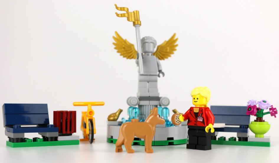 LEGO Creator Springbrunnen: Gratis-Set (40221) | © Andres Lehmann / zusammengebaut.com