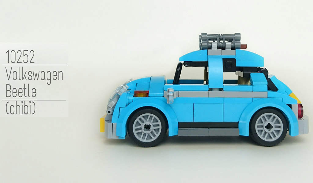 lego creator volkswagen beetle 10252 tiny version of it. Black Bedroom Furniture Sets. Home Design Ideas