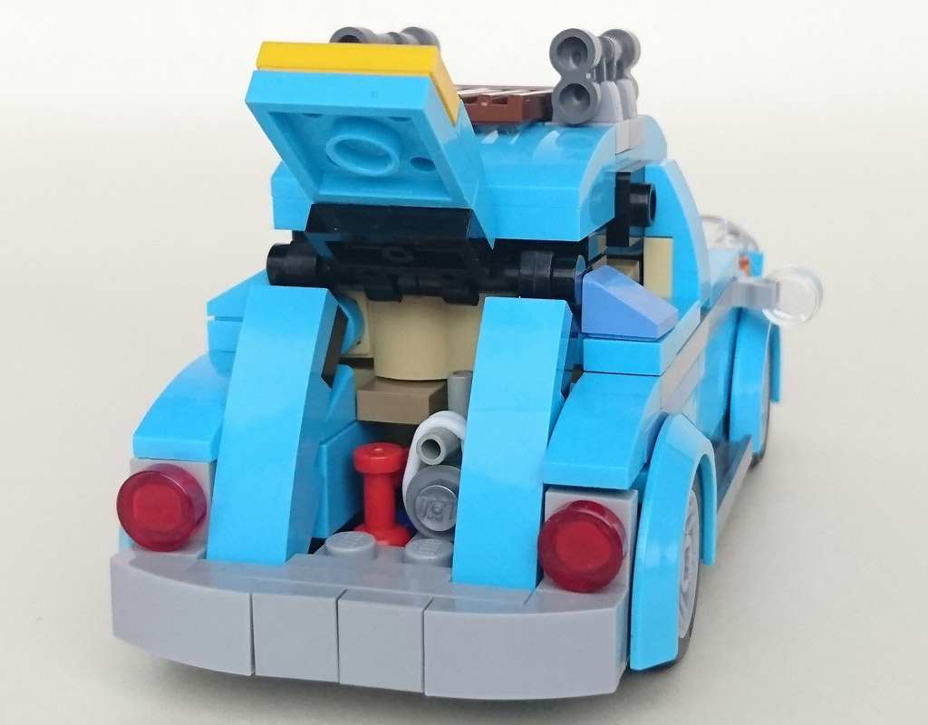 Volkswagen New Truck >> LEGO Creator Volkswagen Beetle (10252): Tiny version of it – MOC | zusammengebaut