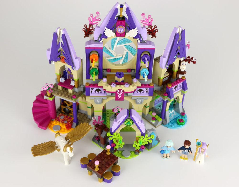 Lego Elves Skyras Geheimnisvolles Himmelsschloss 41078